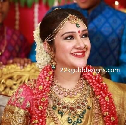 Sridevi Vijaykumar Baby Shower/Seemantham Jewellery