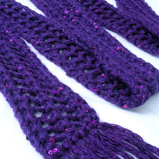 Skinny Lace Scarf - Purl Avenue