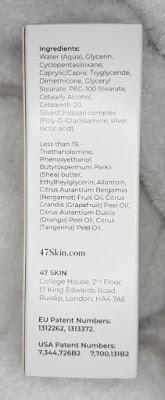 47 Skin Silver Chitosan Regenerating Serum