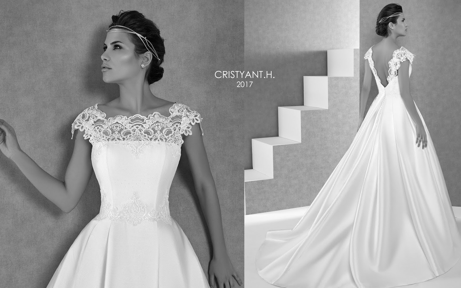 Vestido de novia h&h 2019