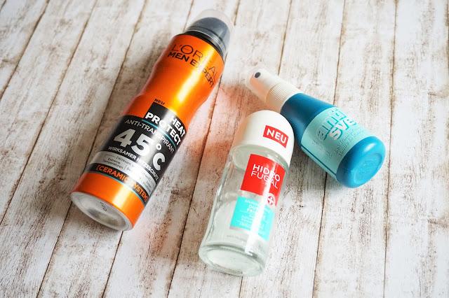 L'Oréal - Men Expert Heat Protect Anti-Transpirant  Hidro Fugal - Roll on Duschfrische  anti svet - Pumpspray