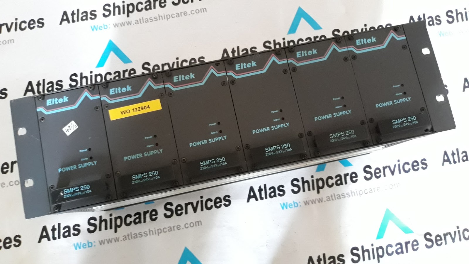 Eltek Power Supply Smps 250 Atlas Shipcare Services Stockiest Electrical Timer Relay India Type 230vac 24vdc 10a Condition 2 Pcs Used Rack Ref No 425