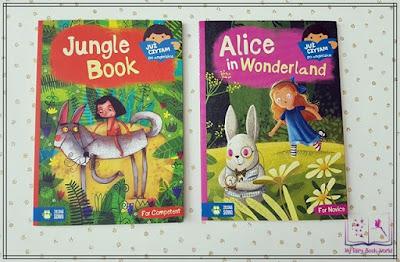 Książeczki do poduszeczki - Już czytam po angielsku - Jungle Book & Alice in Wonderland