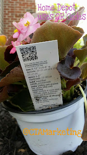 See how Home Depot uses QR Codes to educate Consumers