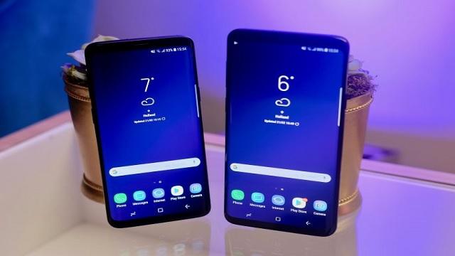 يحسن تحديث برنامج Samsung Galaxy S9 + جودة الاتصال