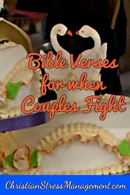 Bible verses for when couples fight