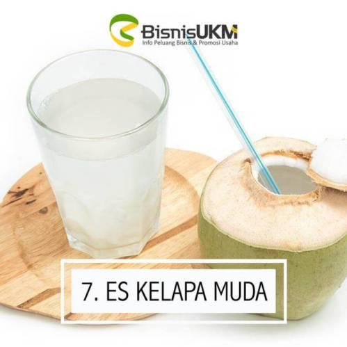 es kelapa muda -prospek bisnis minuman Selalu Laris Manis di Bulan Ramadhan!