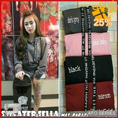 AFO044 Model Fashion Sweater Sella Modis Murah BMGShop