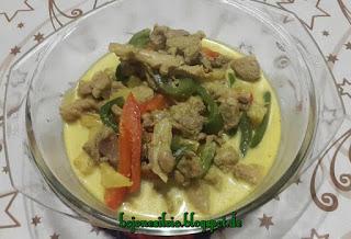 Puten Paprika Curry (Kari kalkun paprika)