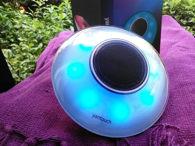Yantouch Take In Led Bluetooth Speaker Lite Alongside Swiss Horn Bass!