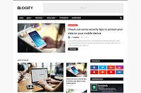 Blogify adalah template blogger profesional, template ini akan membuat blog Anda mendapatkan hasil yang luar biasa