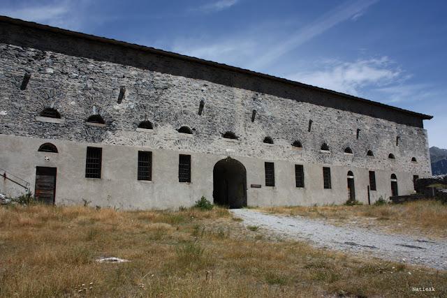 pénitencier du Fort Victor-Emmanuel en Savoie