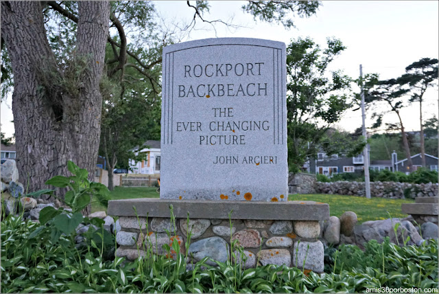 Back Beach en Rockport, Massachusetts
