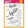 WPlus9 Hand Lettered Hello
