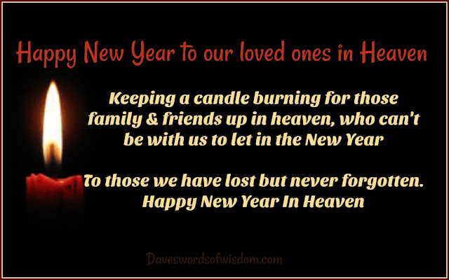 happy new year to our loved ones in heaven