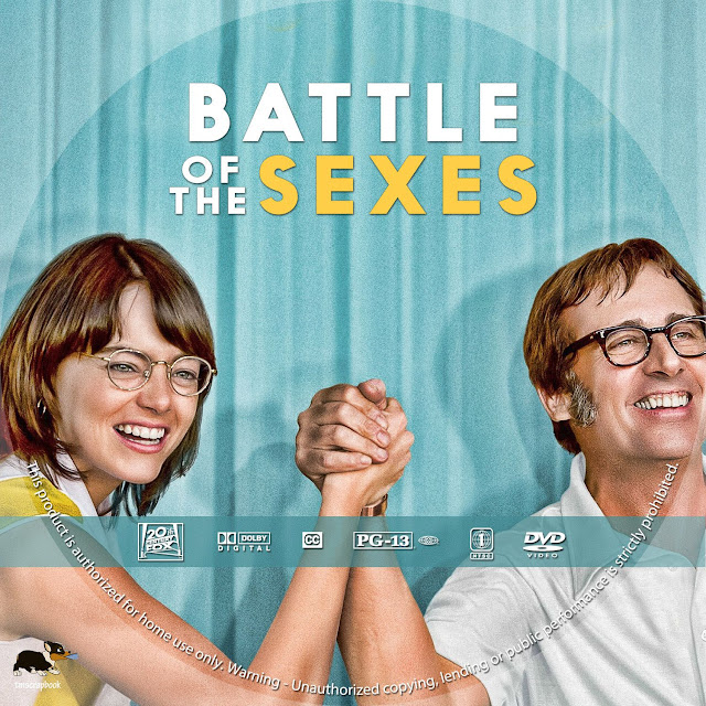 Battle Of Sexes DVD Label