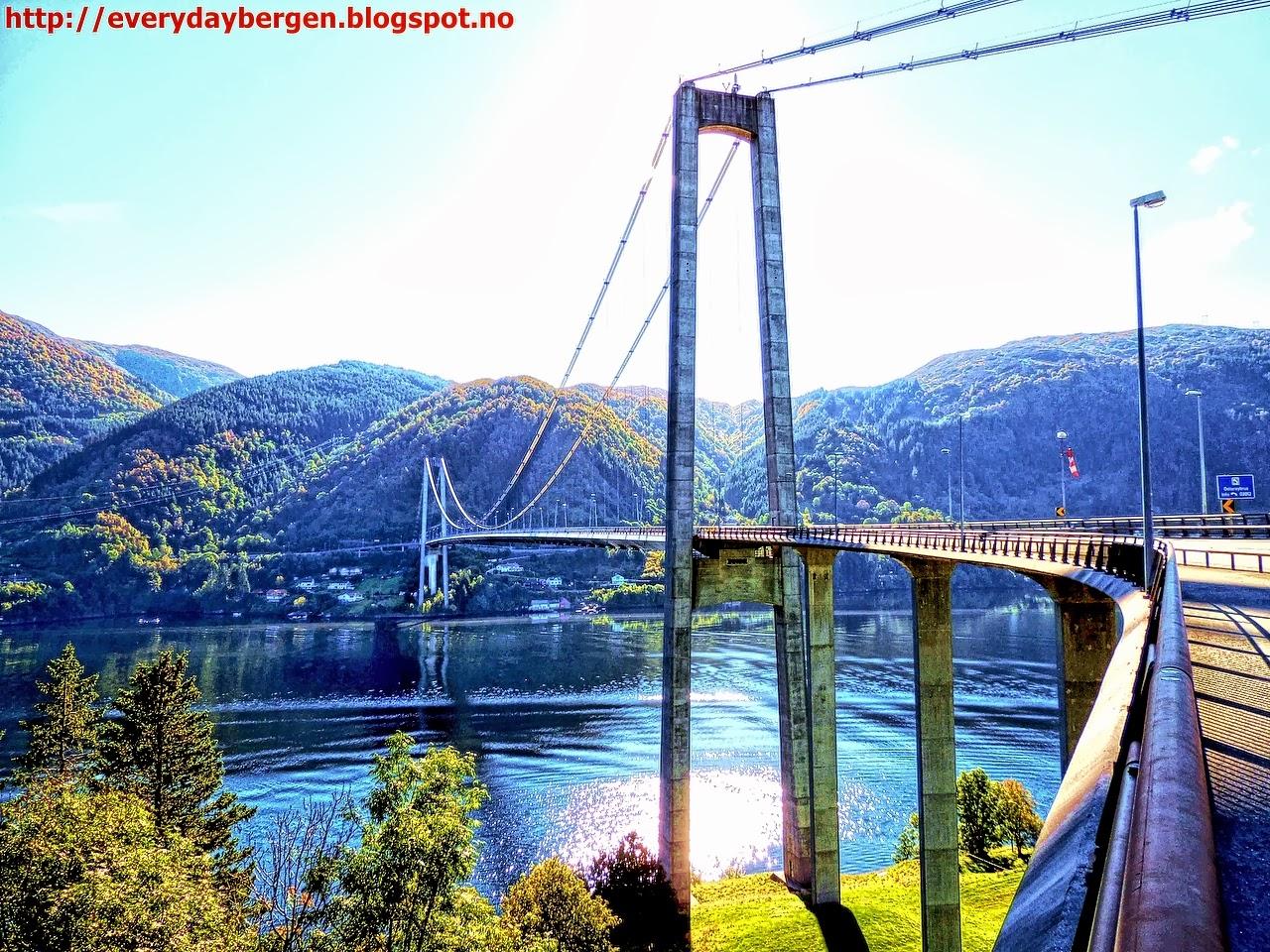 Osterøy Bridge In Hdr