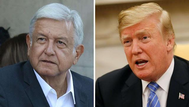 Plan de AMLO y Trump para frenar migración