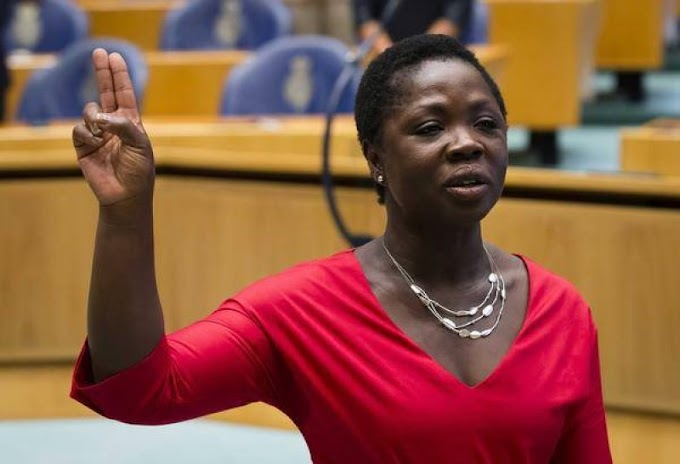 Ghanaian-born politician sworn in as Dutch MP