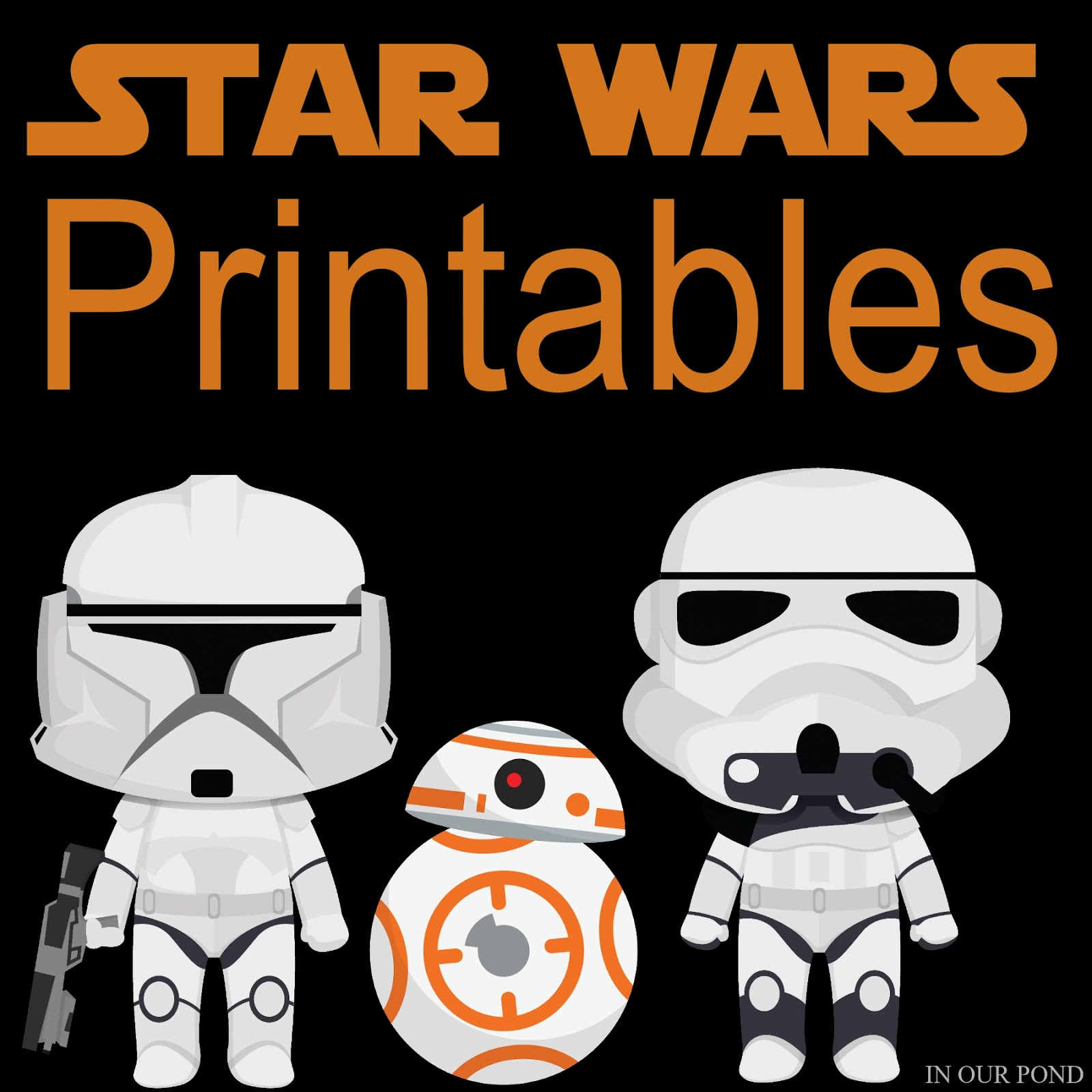 May The 4th Be With You Clip Art: Free Star Wars Printables