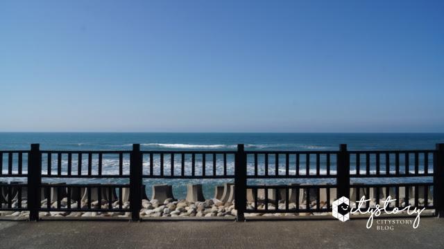 台鐵新埔站-海邊旅遊景點
