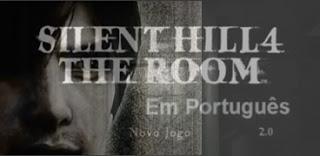Logo Silent Hill 4 The Room 2004 PS2 + a Tradução Português.