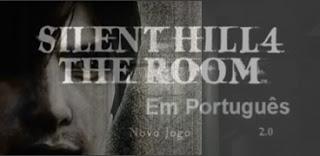 Logo Silent Hill 4 The Room 2004 PS2 + a Tradução Português.