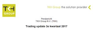 tkh GROUP dividend 2017