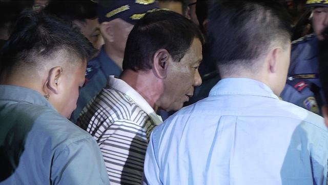 Duterte pays visit to RWM attack, assailant was already identified
