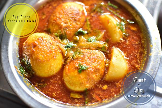 Odia Style Egg Curry (Anda Aalu Jhola)