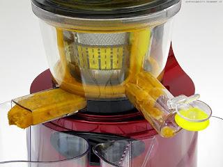 Klarstein Fruitpresso 2G SlowJuicer 150W, albicocche