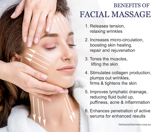 benefits of facial massage thebeautybusiness by jana elston
