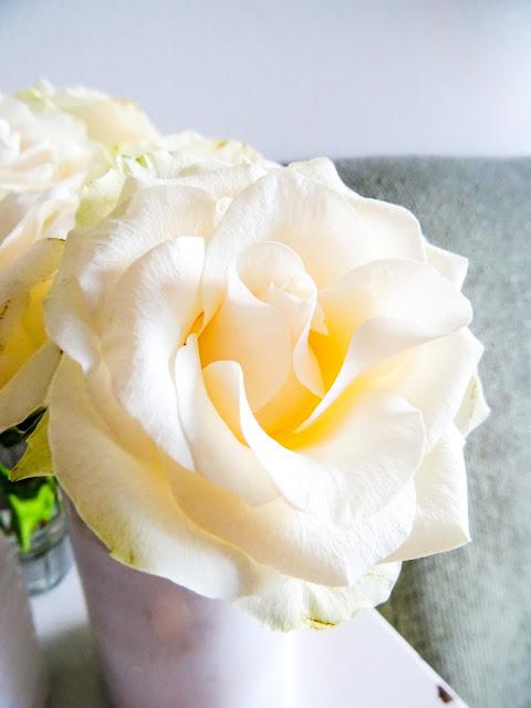 kesälista, kesän to do-lista, valkoinen, ruusu,