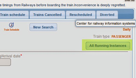How to track Current LIVE Running Status of Indian Railway