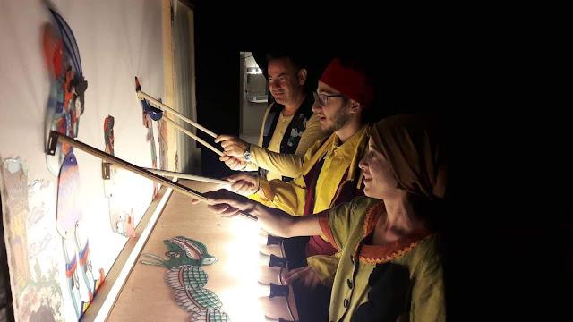 """Θεατρική παράσταση:  """"Σκιών ζωντάνεμα - Ο Μ.Αλέξανδρος & το καταραμένο φίδι"""" στο Ναύπλιο"""