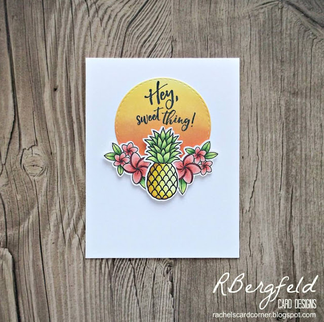 Sunny Studio Stamps: Sunny Saturday Customer Card Share by Rachel Bergfeld