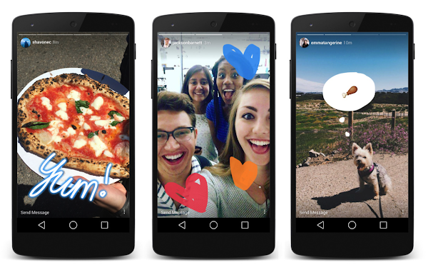 模仿Snapchat?Instagram推出「Stories」限時動態功能