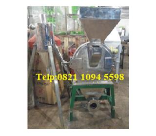 Mesin Penepung Daun Puri - Stainless Steel (Dengan Cyclone)