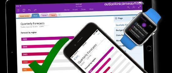 aprovechar mejor Onenote en outlook iniciar sesion