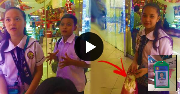 5f4cc593f14 Touching Story Of Young Kids In Their Uniforms Selling Sampaguita In Front  Of Trinoma! READ IT HERE!