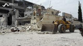 Jet Tempur Rezim Syiah Asad Kembali Menggempur Sejumlah Wilayah Suriah, Banyak Warga Sipil Meninggal