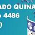 Resultado Quina - Concurso 4486 (20/09/2017)