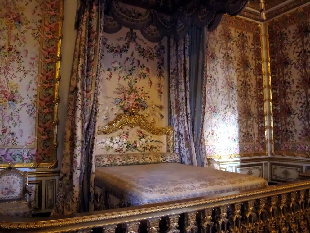 Marie Antoinette's bedroom, Queen's Chambers, Versailles Palace