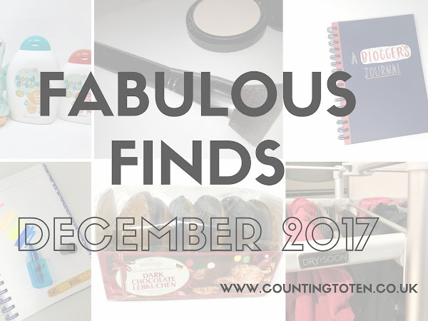 Fabulous Finds December 2017: Good Bubbles, Fun Stationery and A Heated Airer