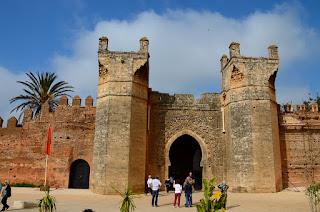 Bab Chellah, Benteng Kuno Bersejarah Di Rabat Maroko