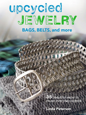 upcycled jewelry book linda peterson