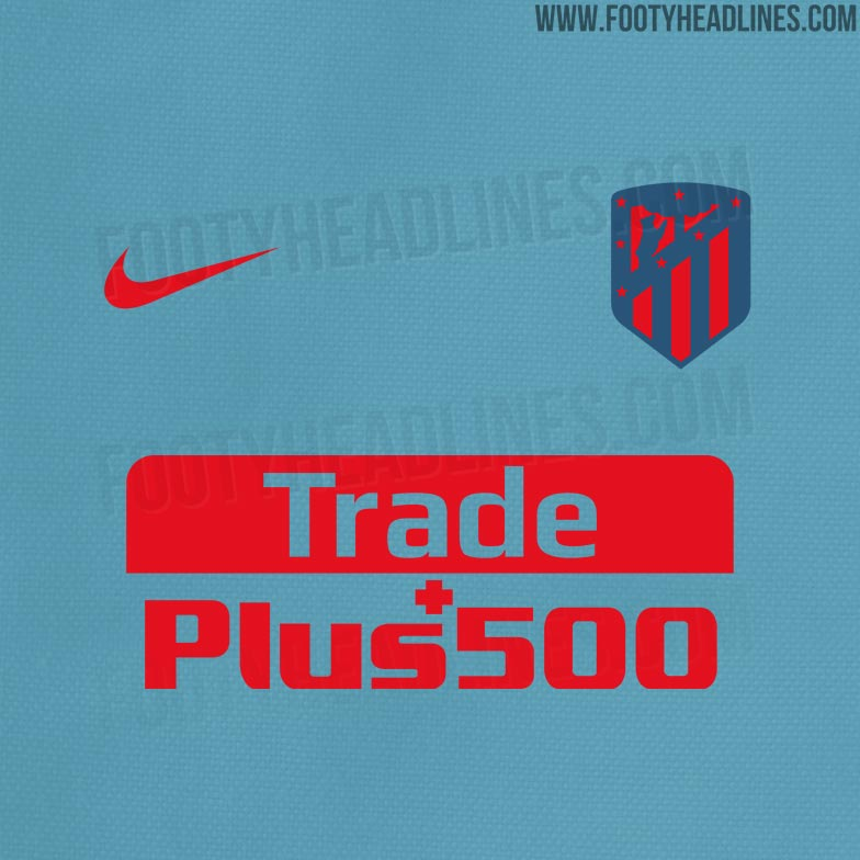 22b5241f3 The new Atlético Madrid 2018-2019 away kit will blue and red