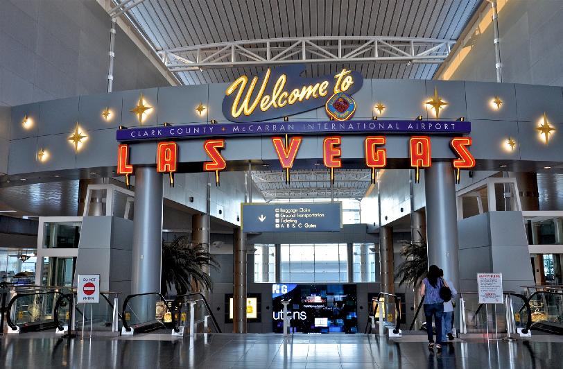 Un Viaje único Las Vegas: Aeroporto Internacional McCarran Em Las Vegas