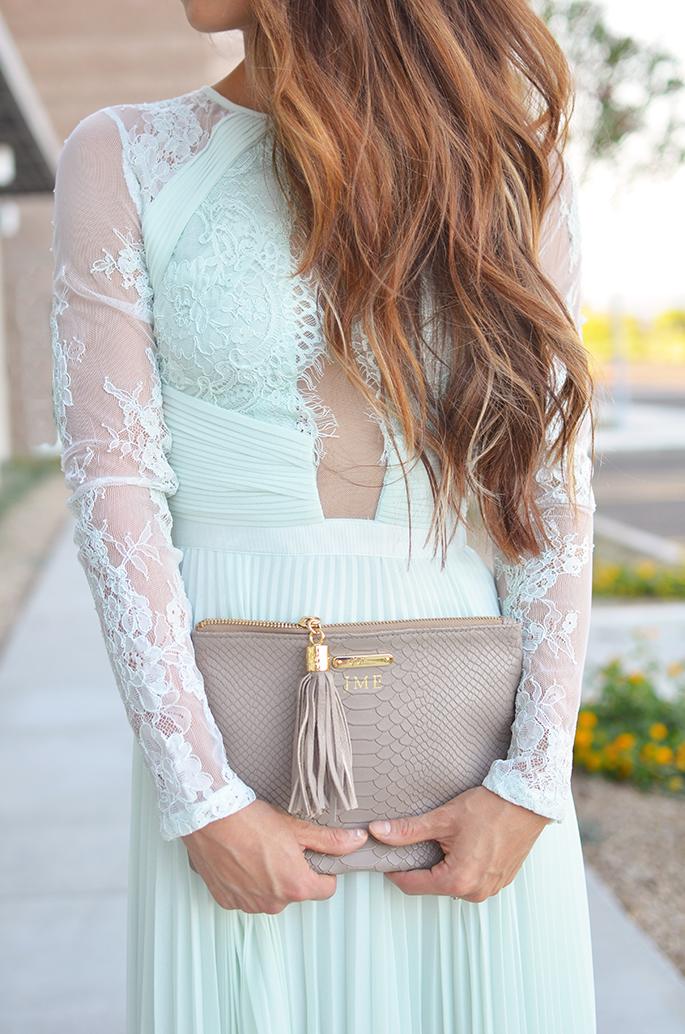 a1c9d783081 J Petite  Perfect Wedding Guest Dress - Minty Lace