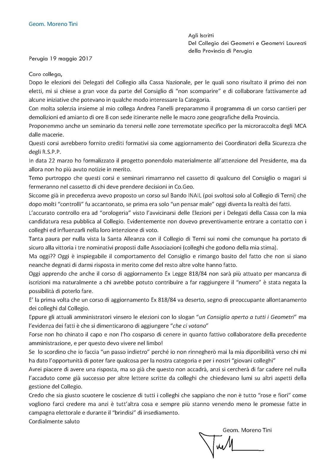 Lavoro A Perugia E Provincia - To Whom It May Concern Letter